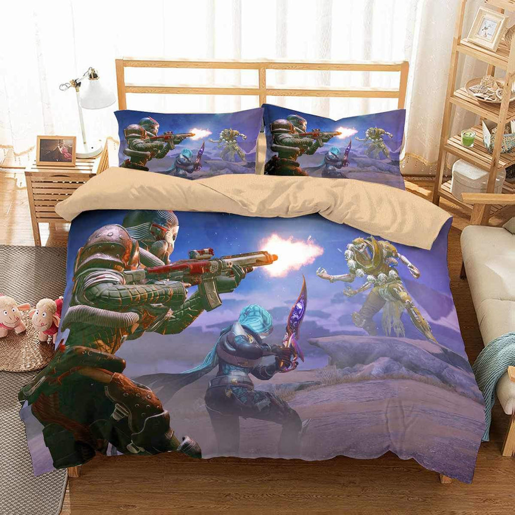 3D CUSTOMIZE DESTINY 2 BEDDING SET