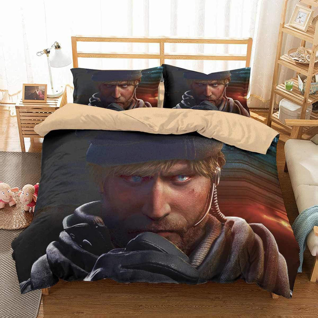 3D CUSTOMIZE RAINBOW SIX SIEGE BEDDING SET DUVET COVER SET BEDROOM SET BEDLINEN
