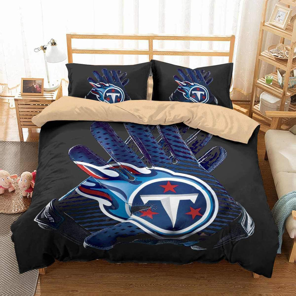 3D CUSTOMIZE TENNESSEE TITANS BEDDING SET