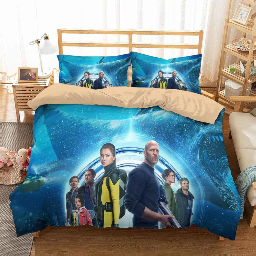 3D CUSTOMIZE THE MEG BEDDING SET