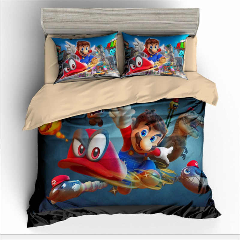 3D Cartoon animation game Bedding Set