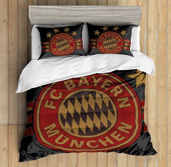 3D Custom FC Bayern Munchen Bedding Set