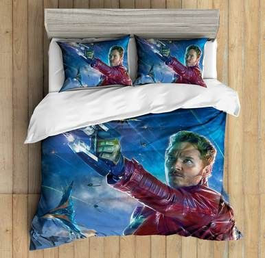 3D Custom Guardians Of The Galaxy3 Bedding Set