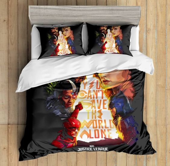 3D Custom Justice League Bedding Set
