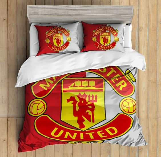 3D Custom Manchester United Bedding Set