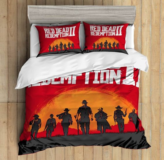 3D Custom Red Dead Redemption Bedding Set