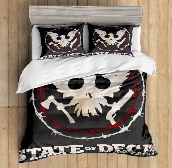 3D Custom State of Decay Bedding Set 2
