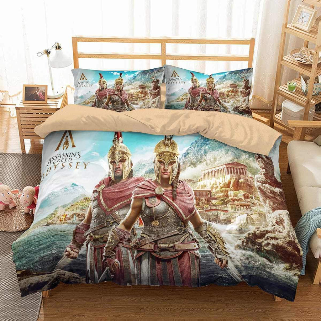 3D Customize Assassin's Creed Odyssey Bedding Set