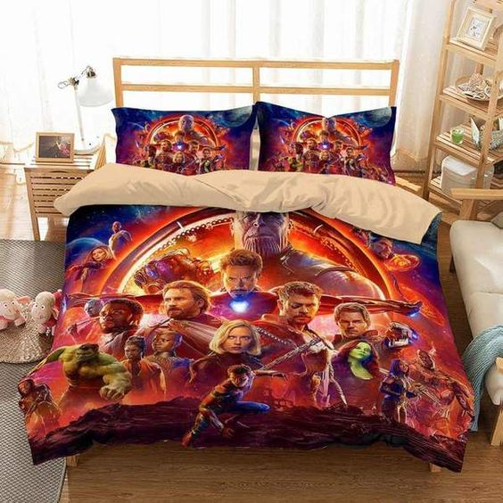 3D Customize Avengers Infinity War Bedding Set