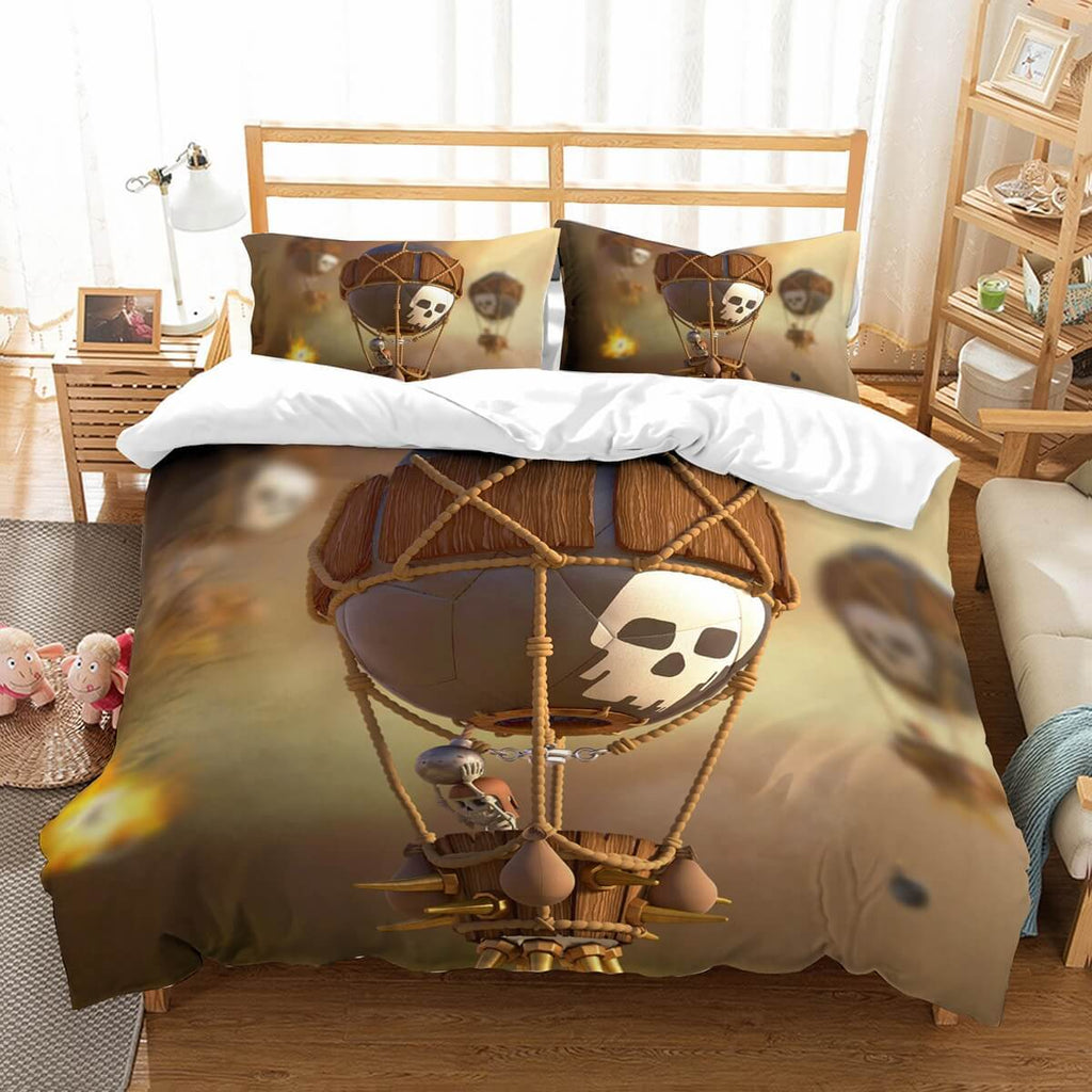 3D Customize Clash Of Clans Bedding Set