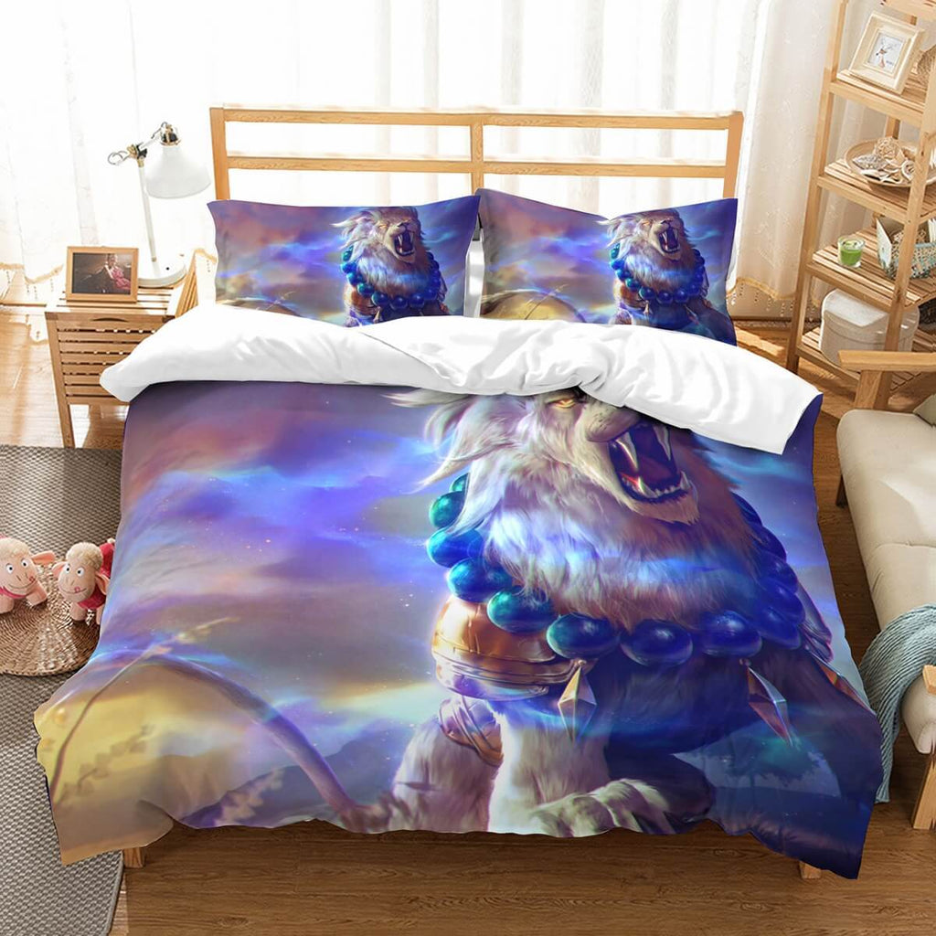 3D Customize Colorful Lion Bedding Set Duvet Cover Set Bedroom Set Bedlinen