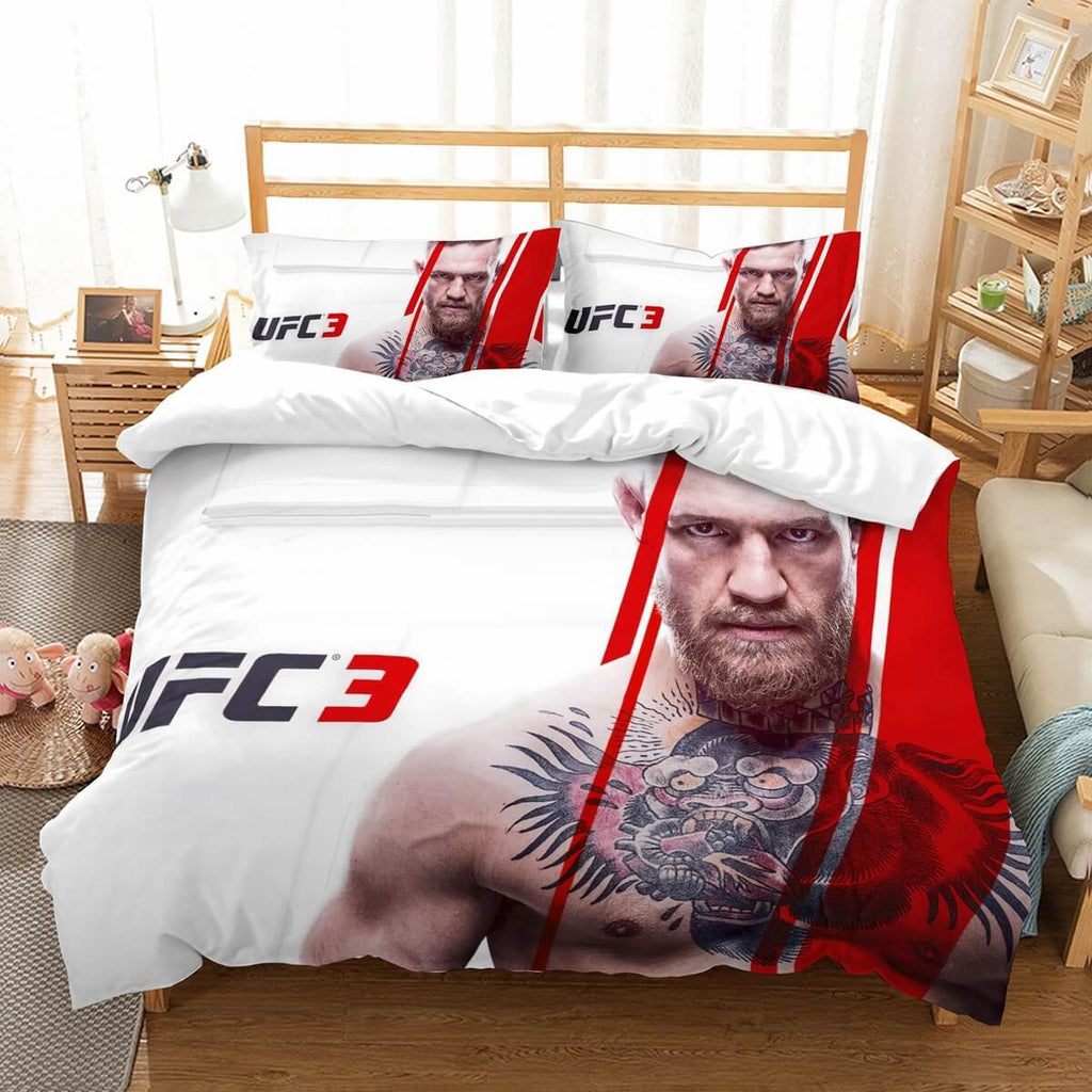 3D Customize Conor McGregor Bedding Set Duvet Cover Set Bedroom Set Bedlinen
