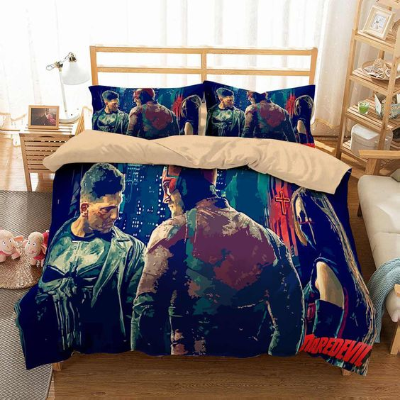 3D Customize Daredevil Bedding Set .