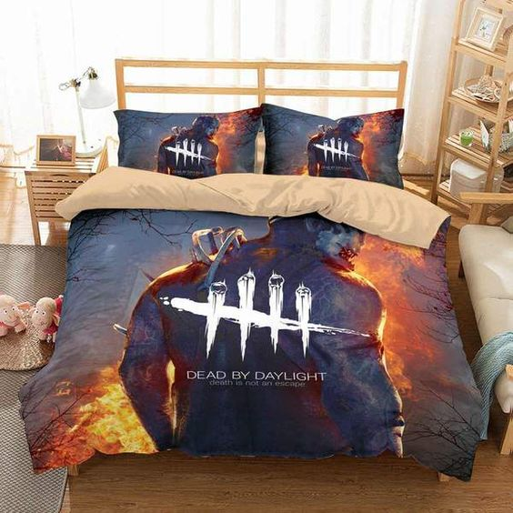 3D Customize Dead by Daylight Bedding Set