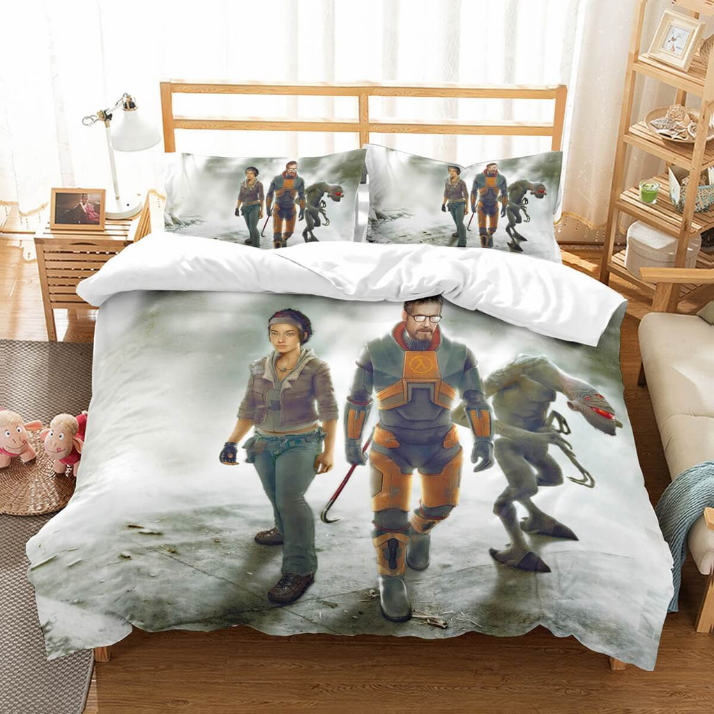 3D Customize Half-Life Bedding Set Duvet Cover Set Bedroom Set Bedlinen