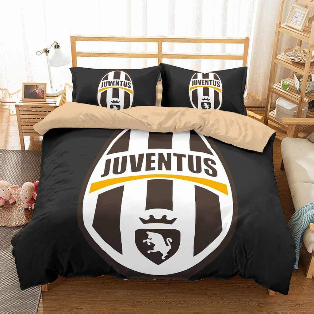 3D Customize Juventus Bedding Set Duvet Cover Set Bedroom Set Bedlinen