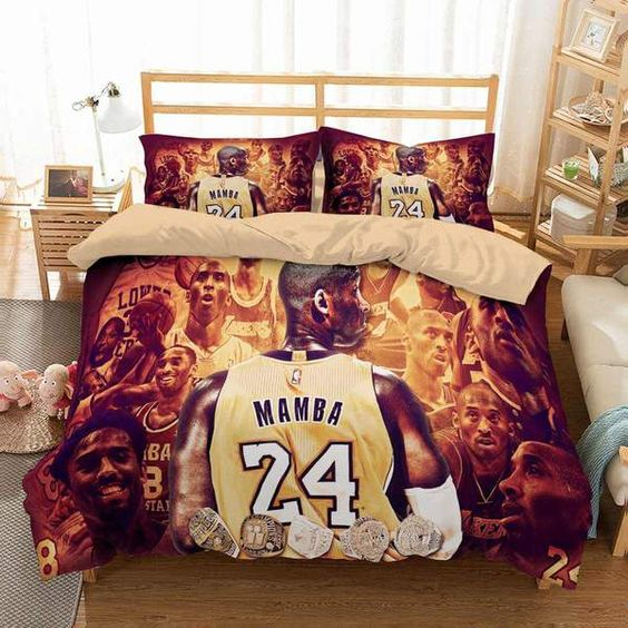 3D Customize Kobe Brant Bedding Set