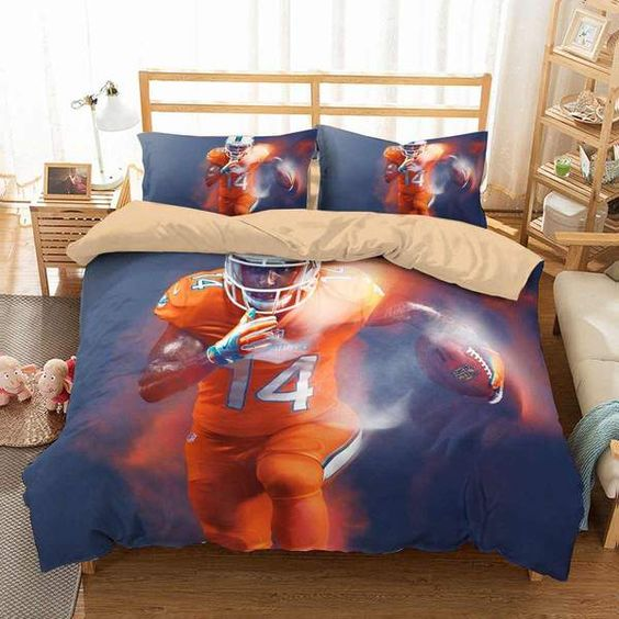 3D Customize NFL Color Rush Bedding Set