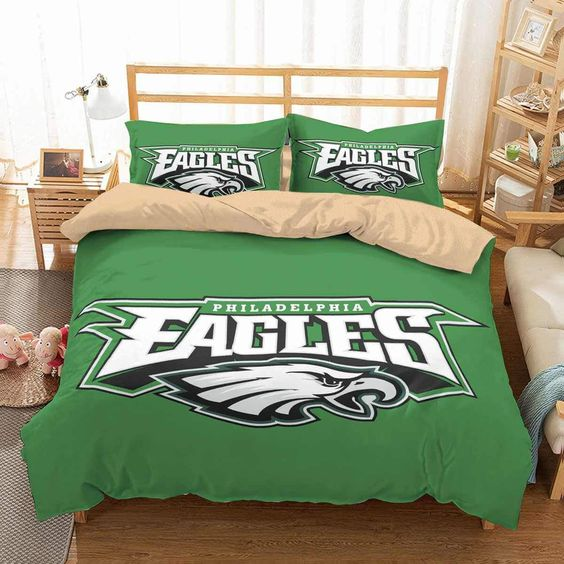 3D Customize Philadelphia Eagles Bedding Set