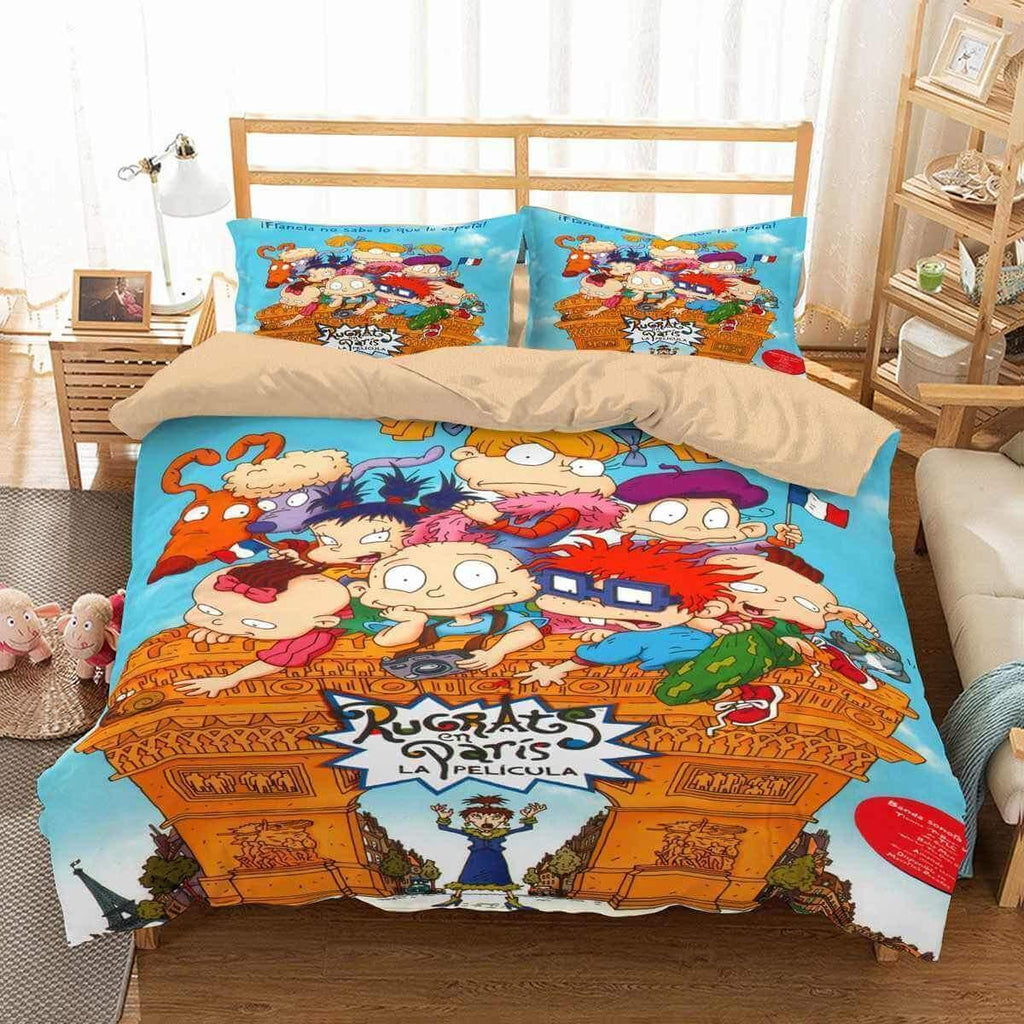 3D Customize Rugrats Bedding Set