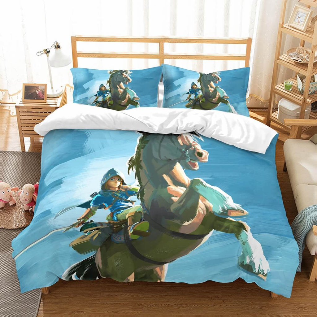 3D Customize The Legend Of Zelda Breath Of The Wild Bedding Set Duvet Cover Set Bedroom Set Bedlinen.