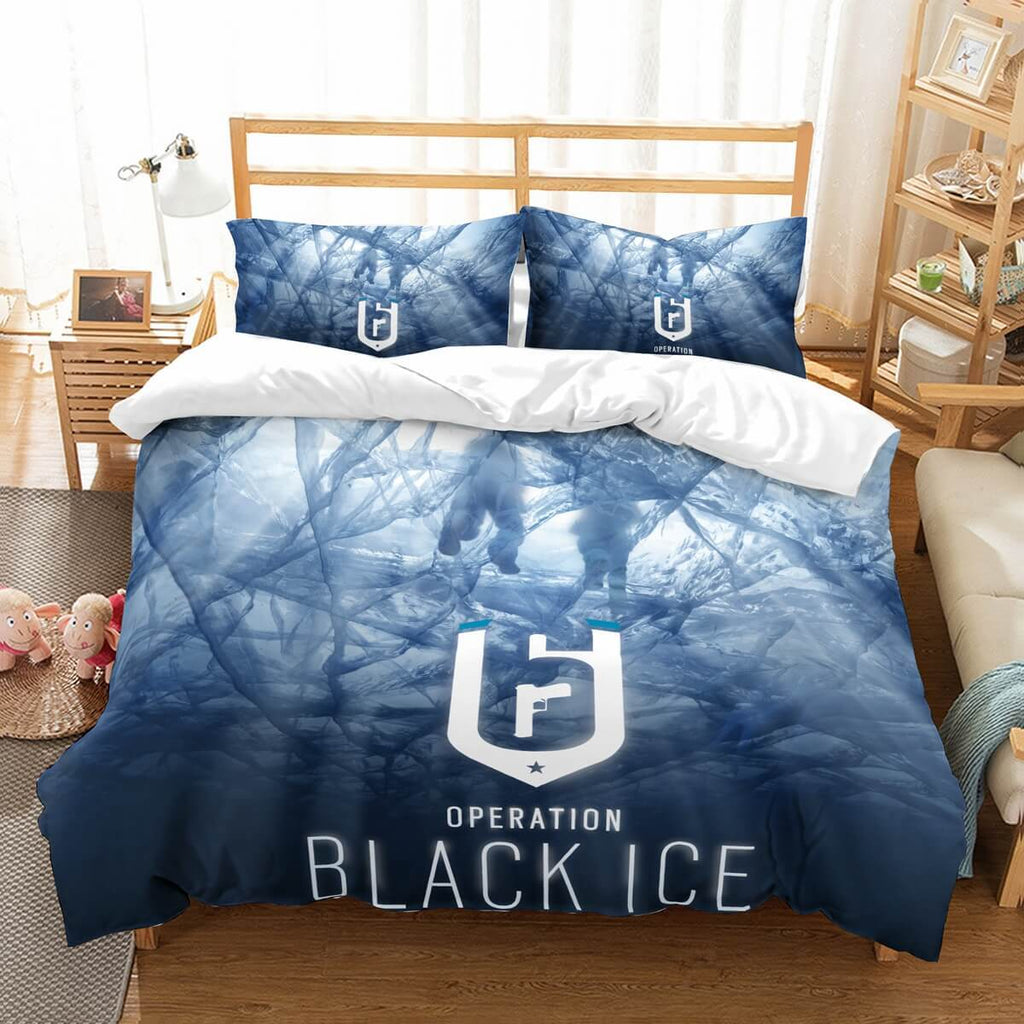 3D Customize Tom Clancy's Rainbow Six Bedding Set Duvet Cover Set Bedroom Set Bedlinen..