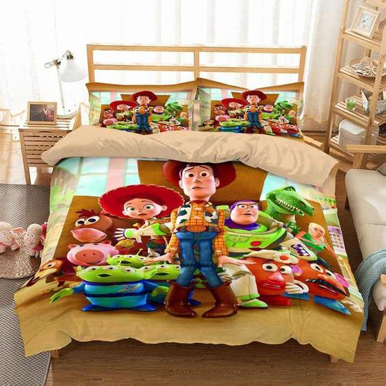3D Customize Toy Story Bedding Set