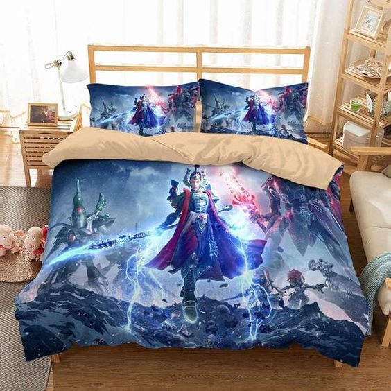 3D Customize Warhammer 40,000 Dawn of War Bedding Set