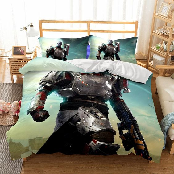 3D Game DESTINY2 Printed2 Bedding Sets