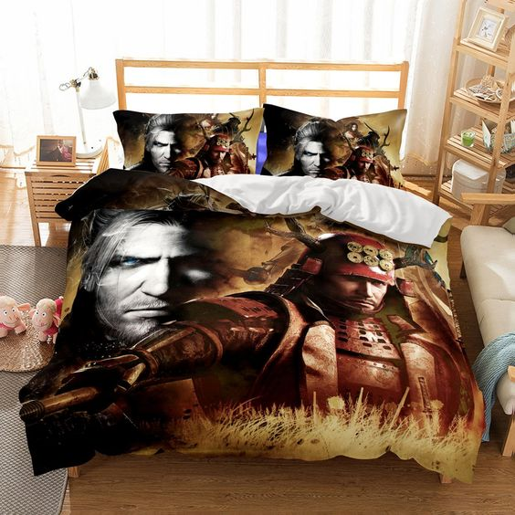 3D Game NIOH Printed Bedding Sets