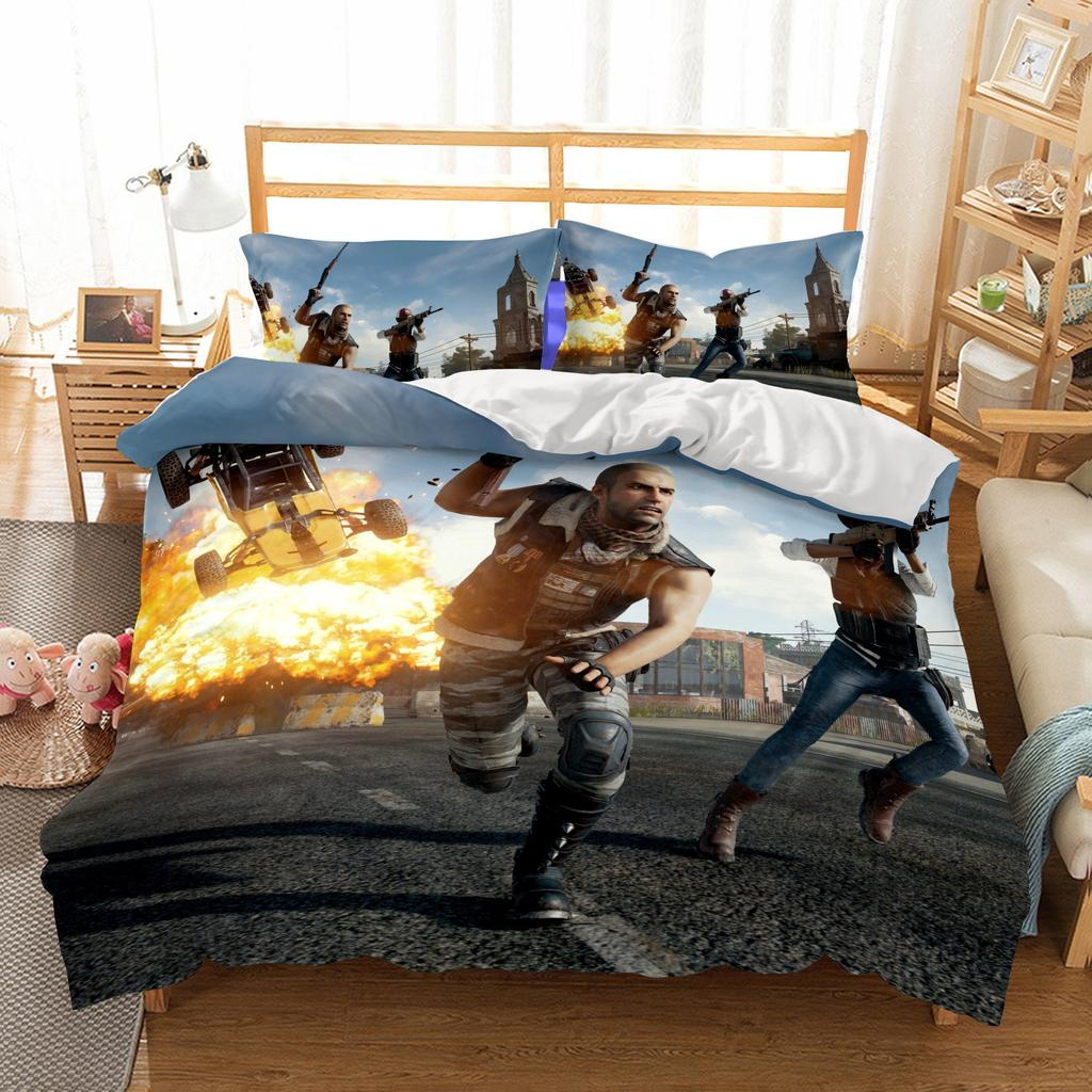 3D Game PUBG Printed3 Bedding Sets