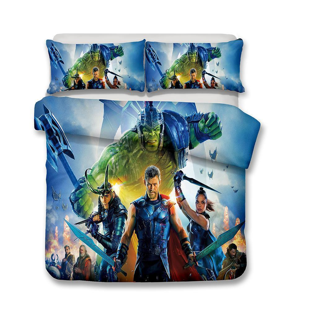 3D Marvel Thor bedding set