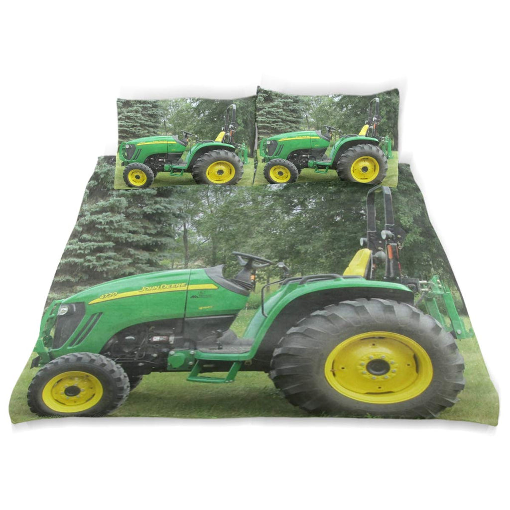 ATMAYW Simple Style Bedding Set Duvet Cover, Farm Tractor
