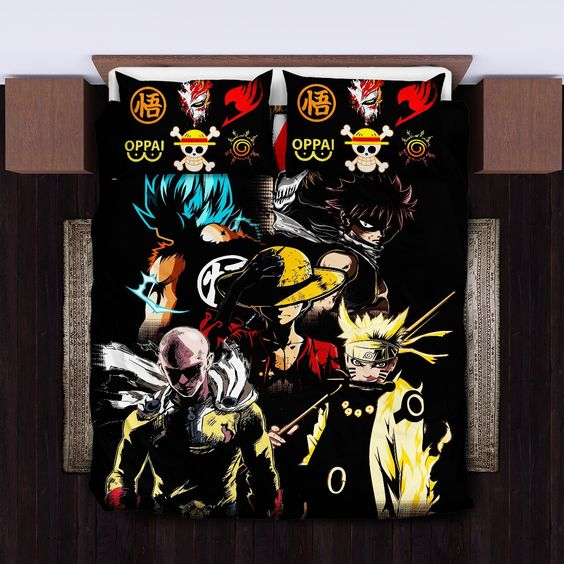 Anime Heroes Bedding Set