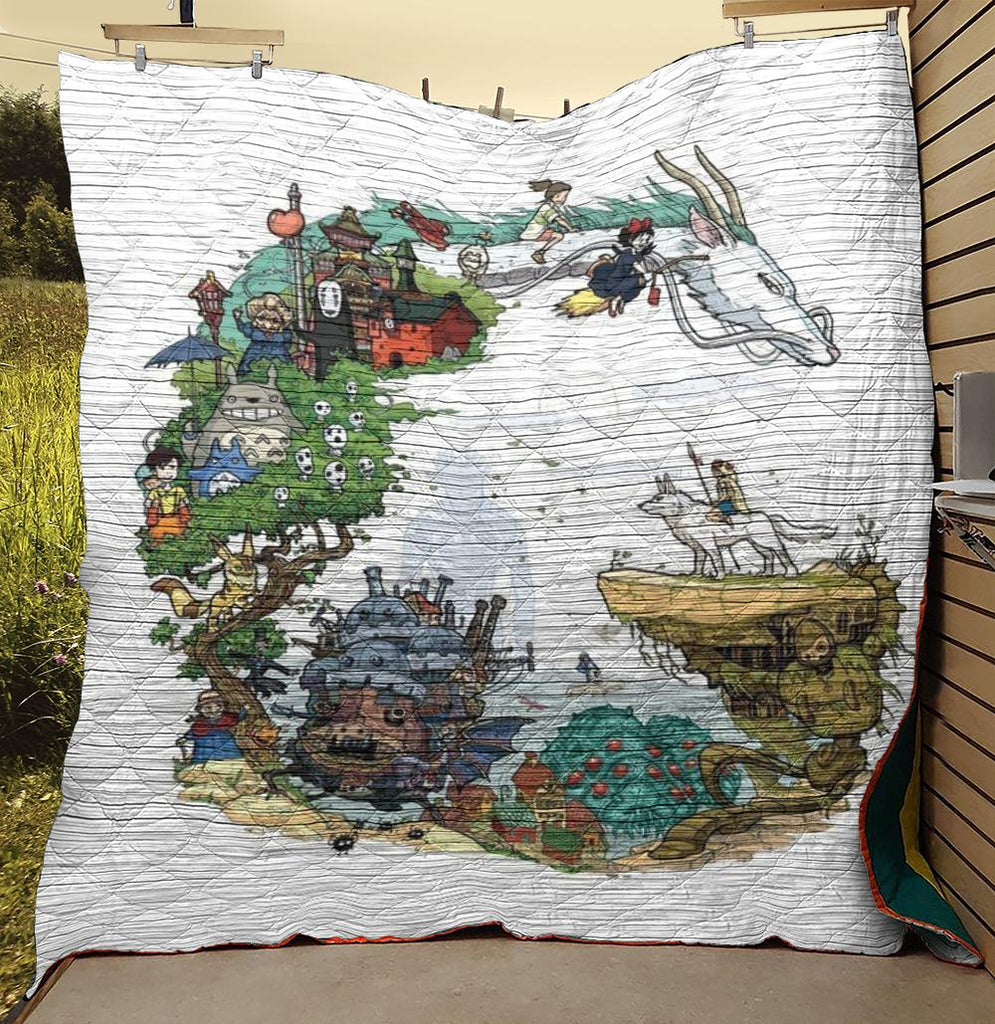 Anime Studio Ghibli Quilts