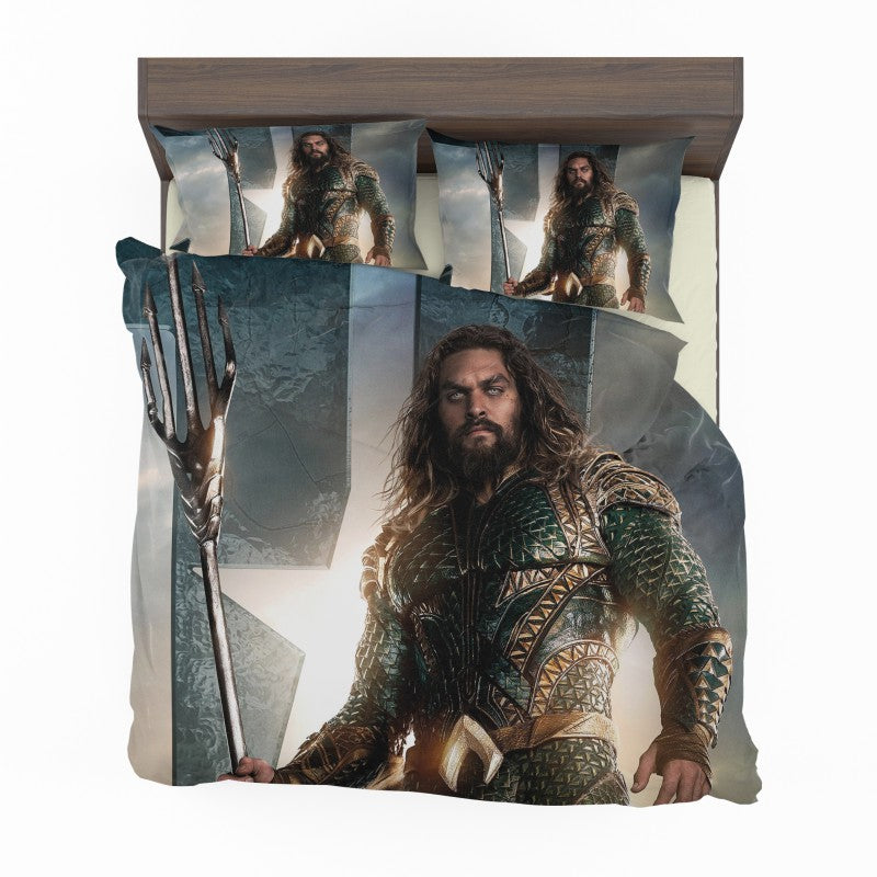 Aquaman Justice League Super Hero Bedding Set