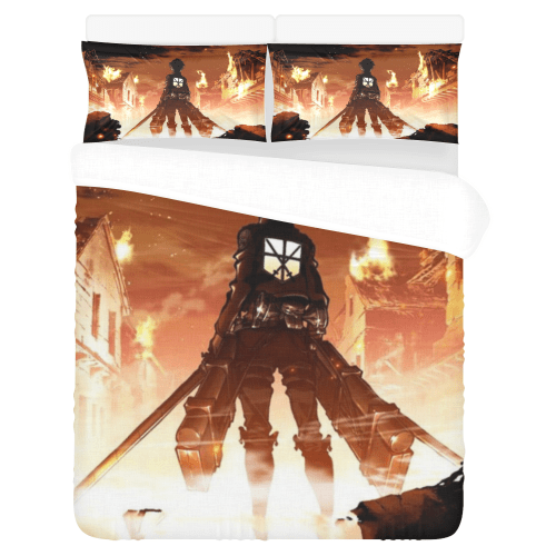 Attack On Titan Bedding Set V2