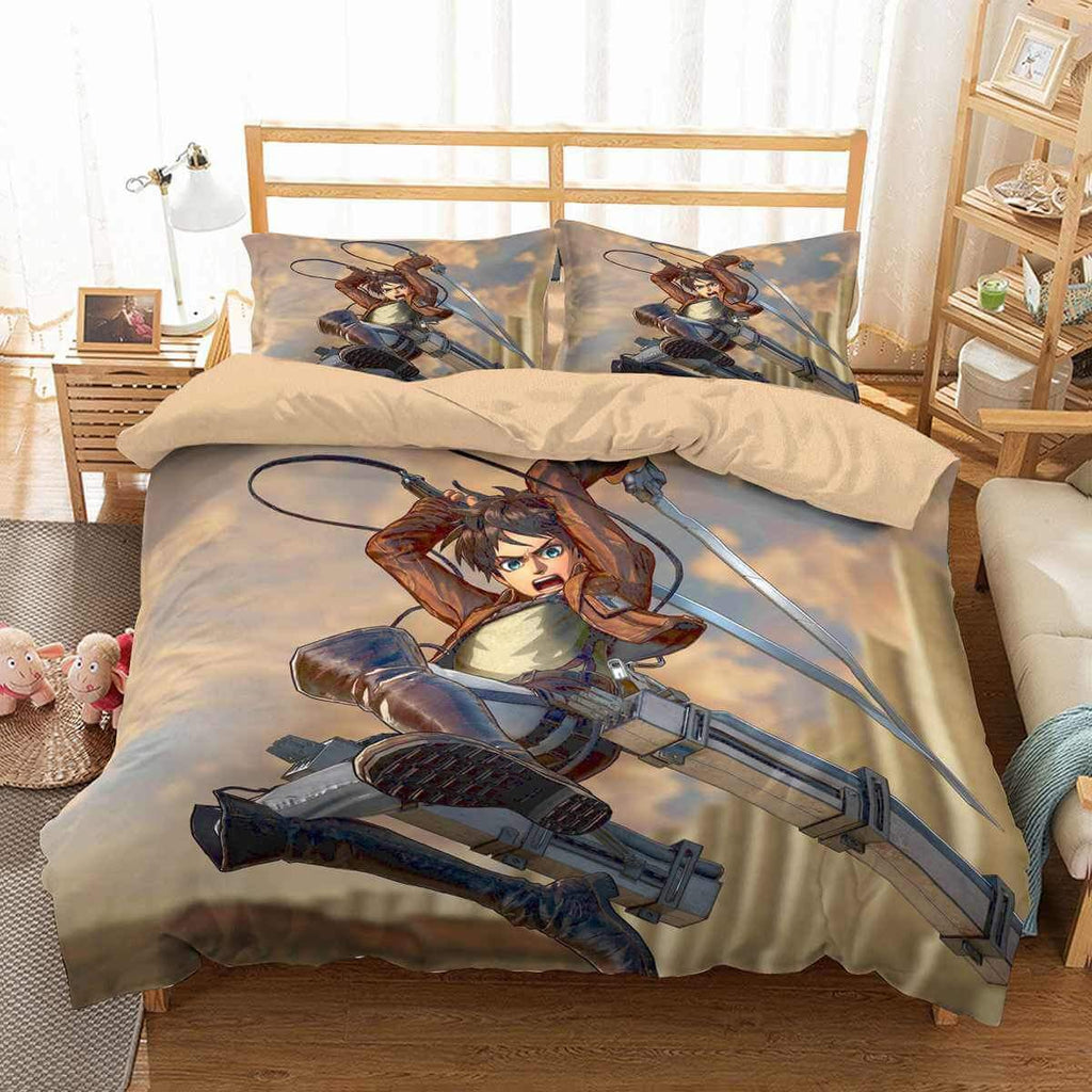 Attack On Titan Bedding Set