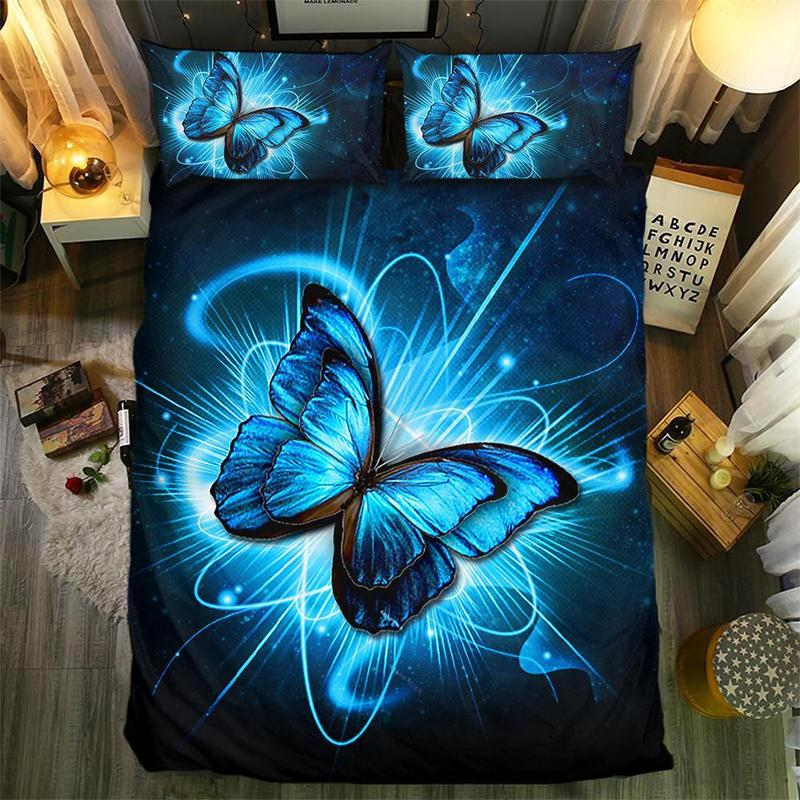 BUTTERFLY COLLECTION  BEDDING SET