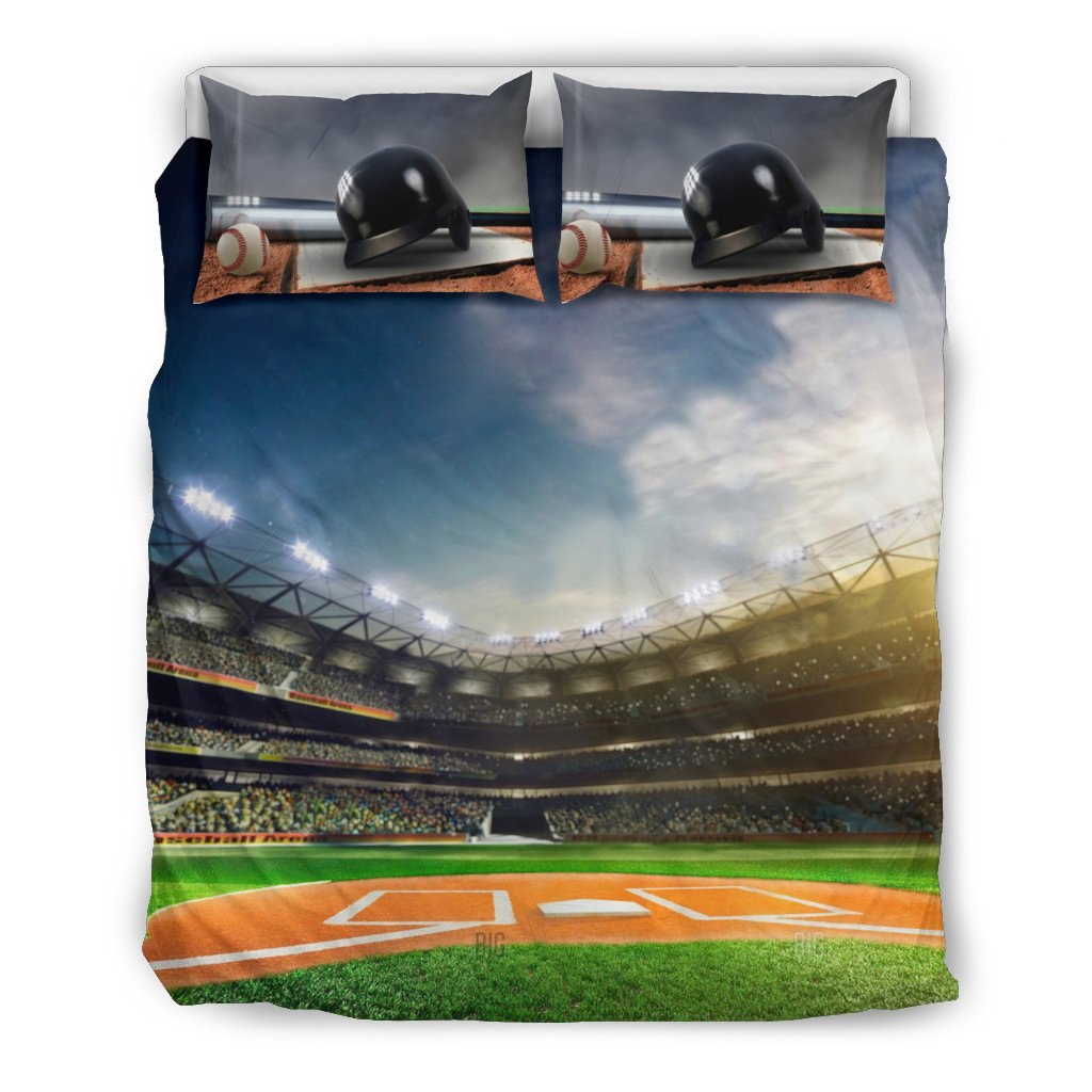 Baseball Bedding_Baseball Field Baseball Bedding_Baseball Field
