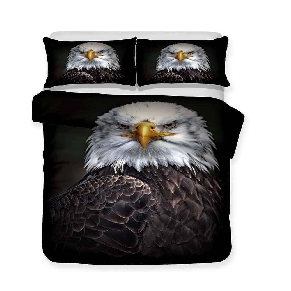 Bird Print Eagle 3d Bedding Set Extra Large Design Bed Cover