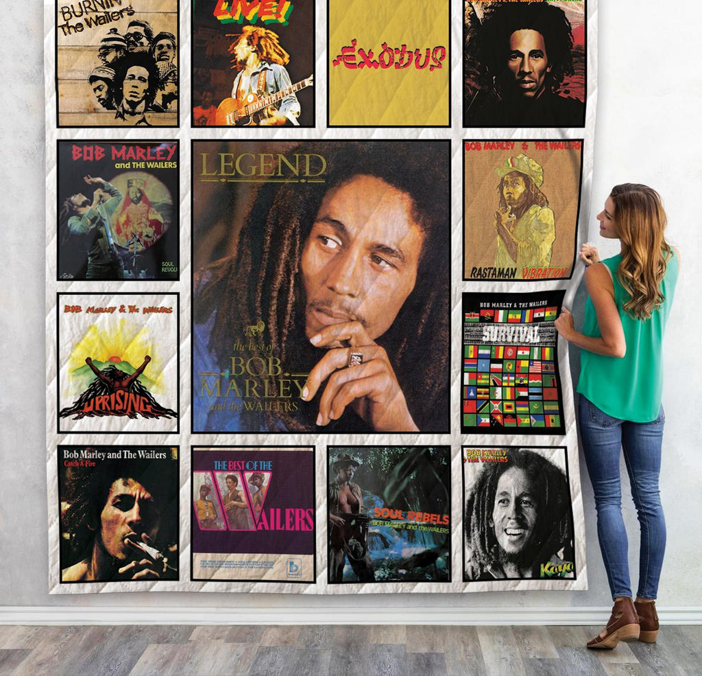 Bob Marley And The Wailers Album Quilts