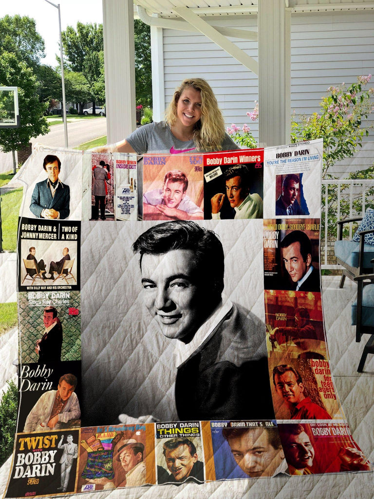 Bobby Darin Style Three Quilts