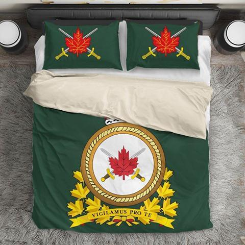 Canadian Army Duvet Cover bedding