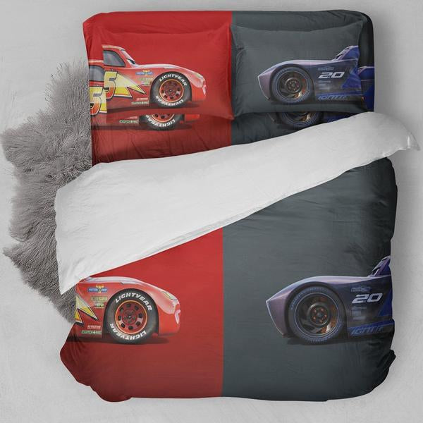 Cars Animation Opposite Bedding Set