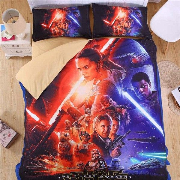 Cartoon Bedding Set Star Wars Duvet Cover Set