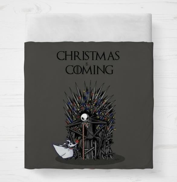 Christmas Is Coming Bedding Set