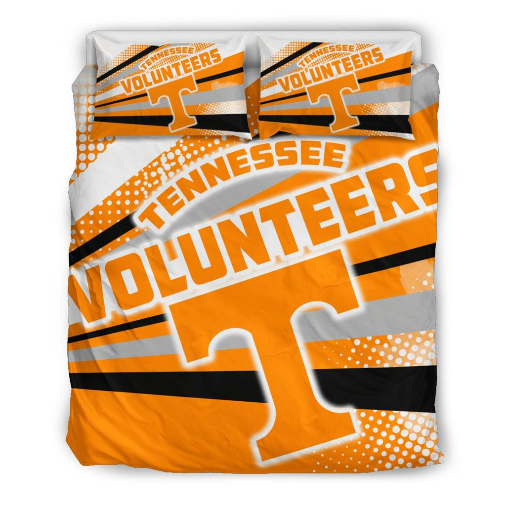 Colorful Shine Amazing Tennessee Volunteers 3D Customized Bedding Set