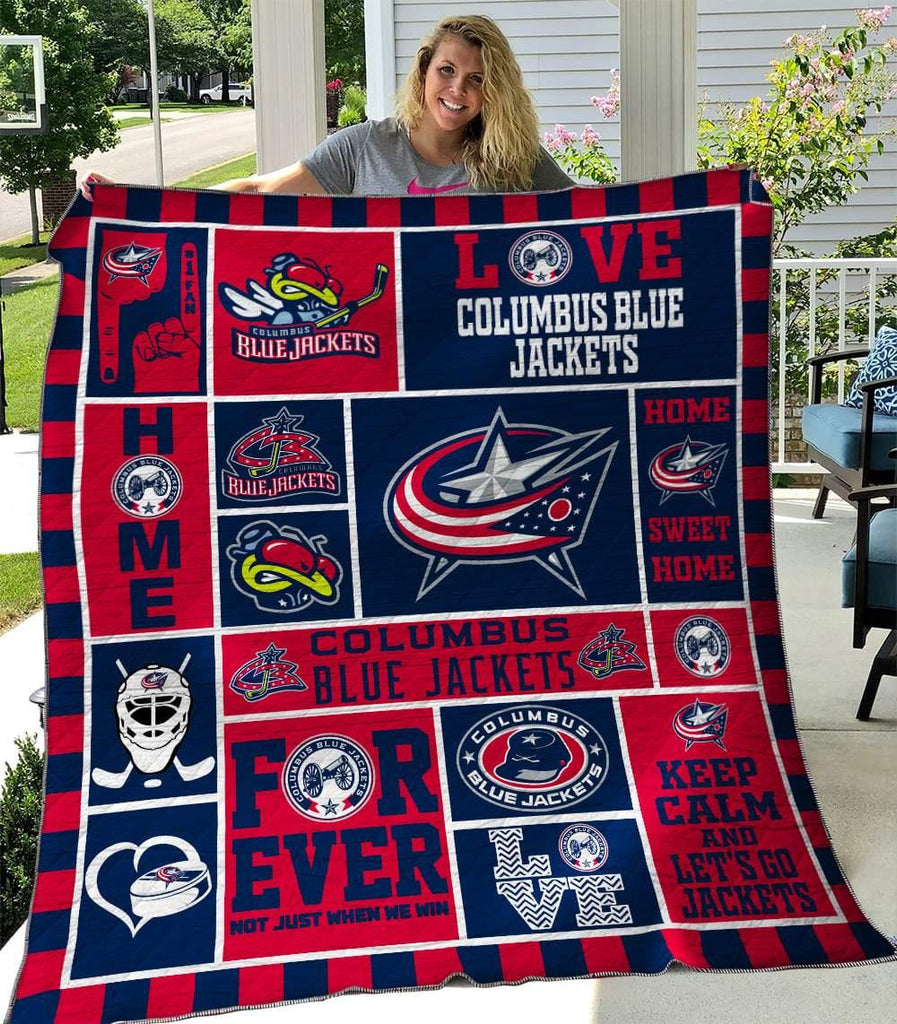 Columbus Blue Jackets Quilts