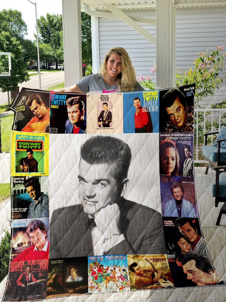 Conway Twitty Style Three Quilts